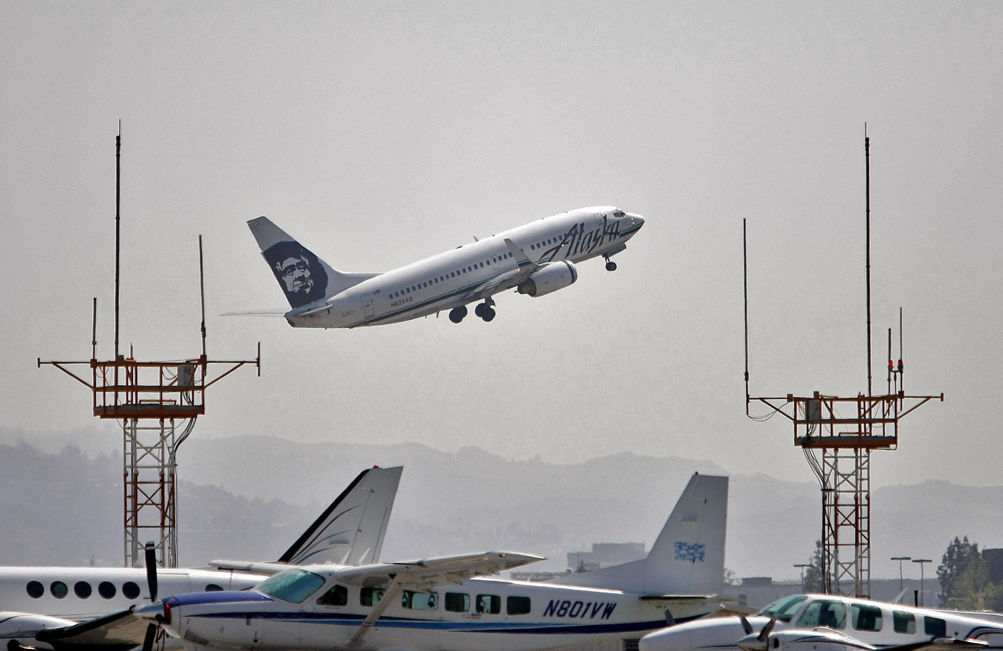 Flight Attendants Sue Boeing Over Toxic Fumes On Alaska