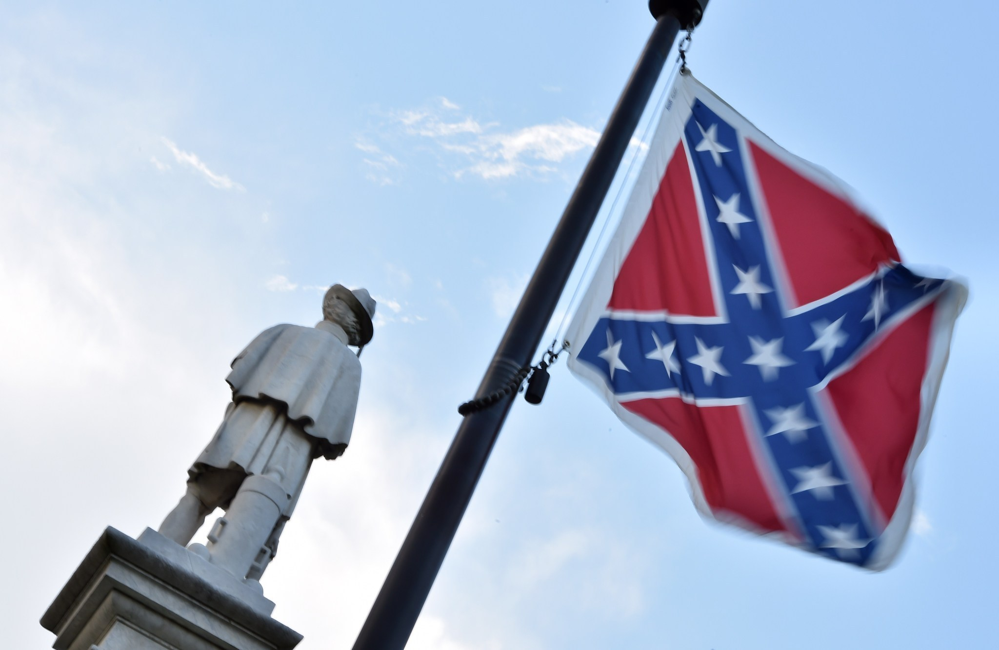 The Confederate Flag Where It Flies Where It S Coming