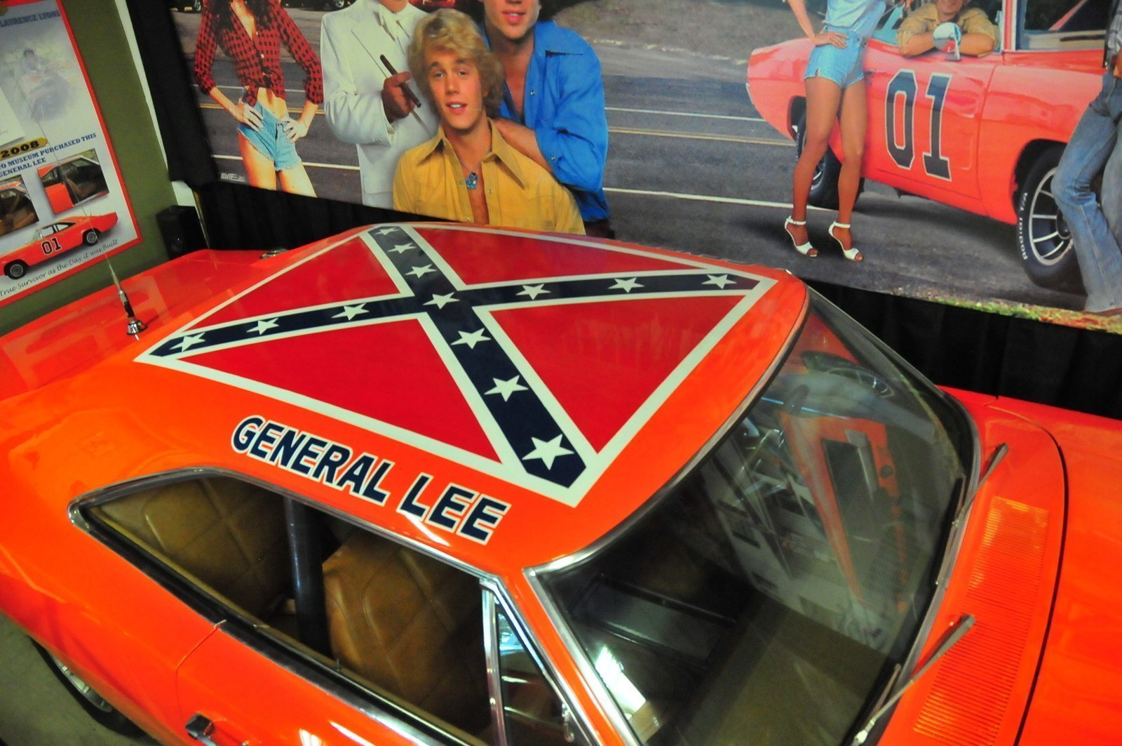 Volo Museum To Keep Hazzard Car With Confederate Flag On