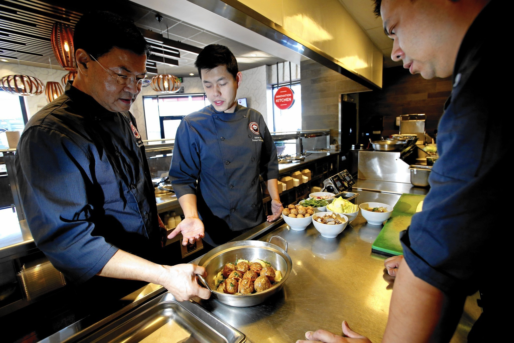 Panda Express Test Kitchen