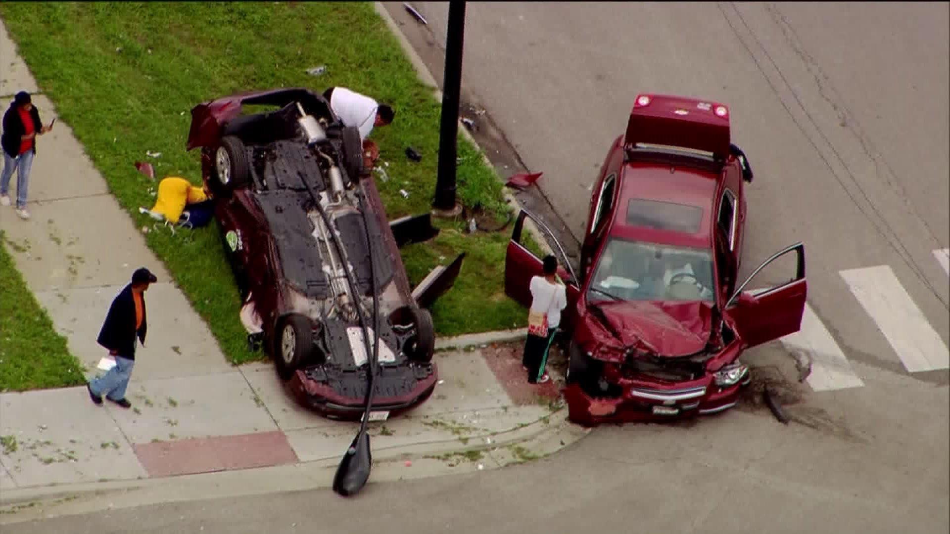 Car Crash In Bronzeville