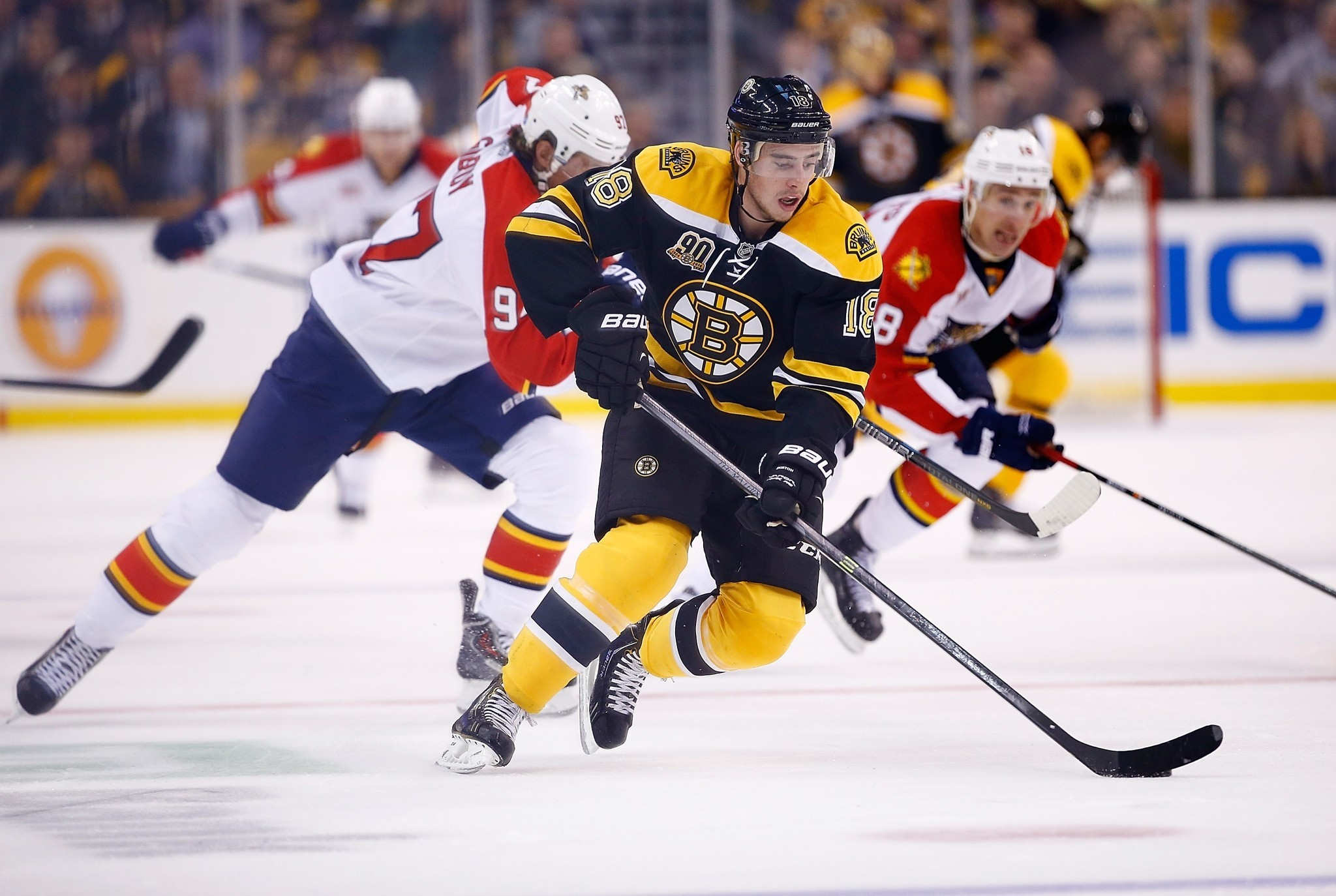 c15a28ae37a Florida panthers trade Jimmy Hayes for Bruins Reilly Mmith - Sun Sentinel