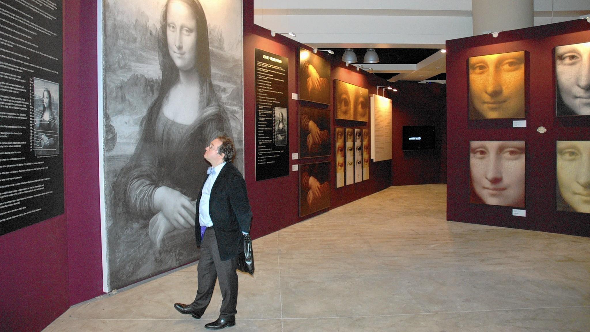 Reading exhibit unveils the Mona Lisa's true colors - The ...