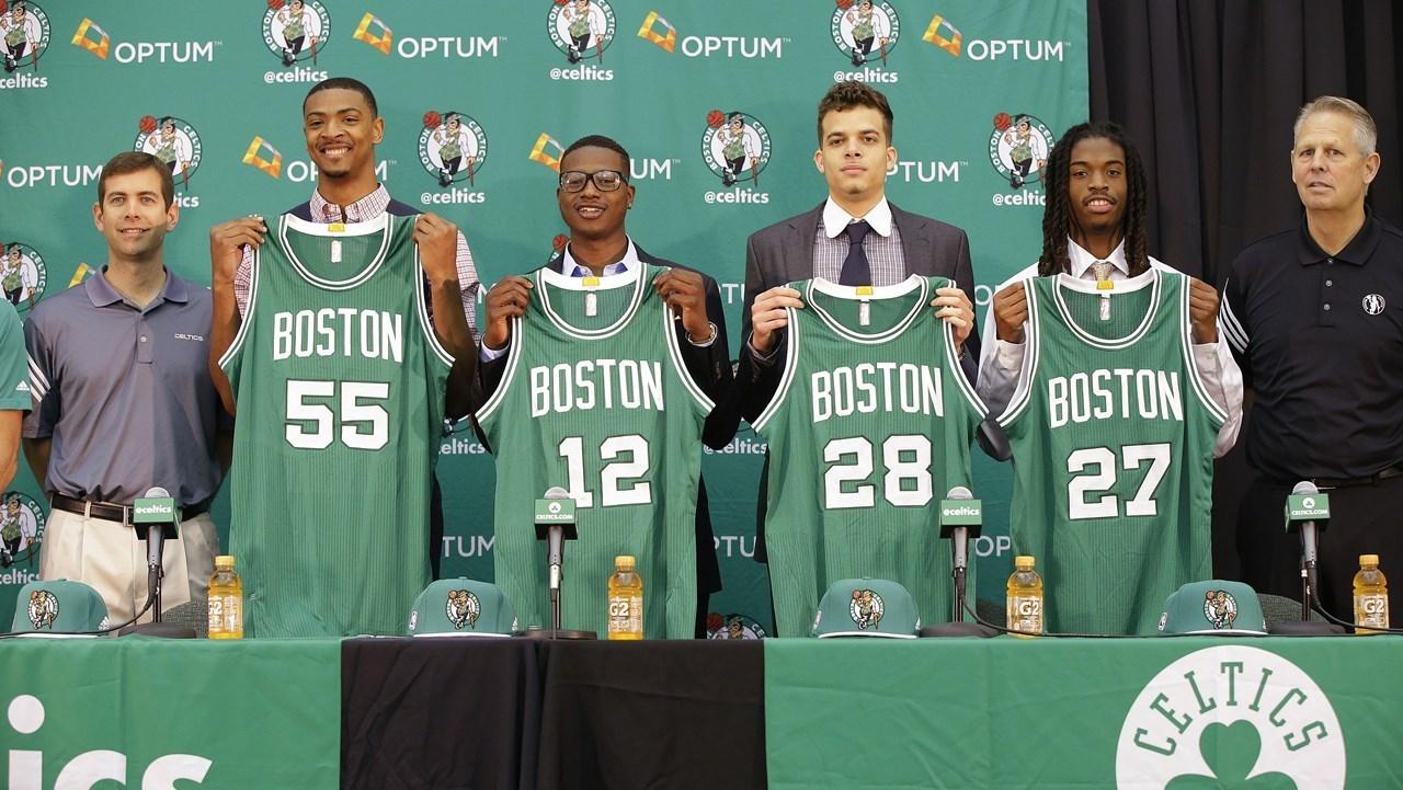 Miami Heat Choose Justise Winslow Over Boston Celtics Draft Picks