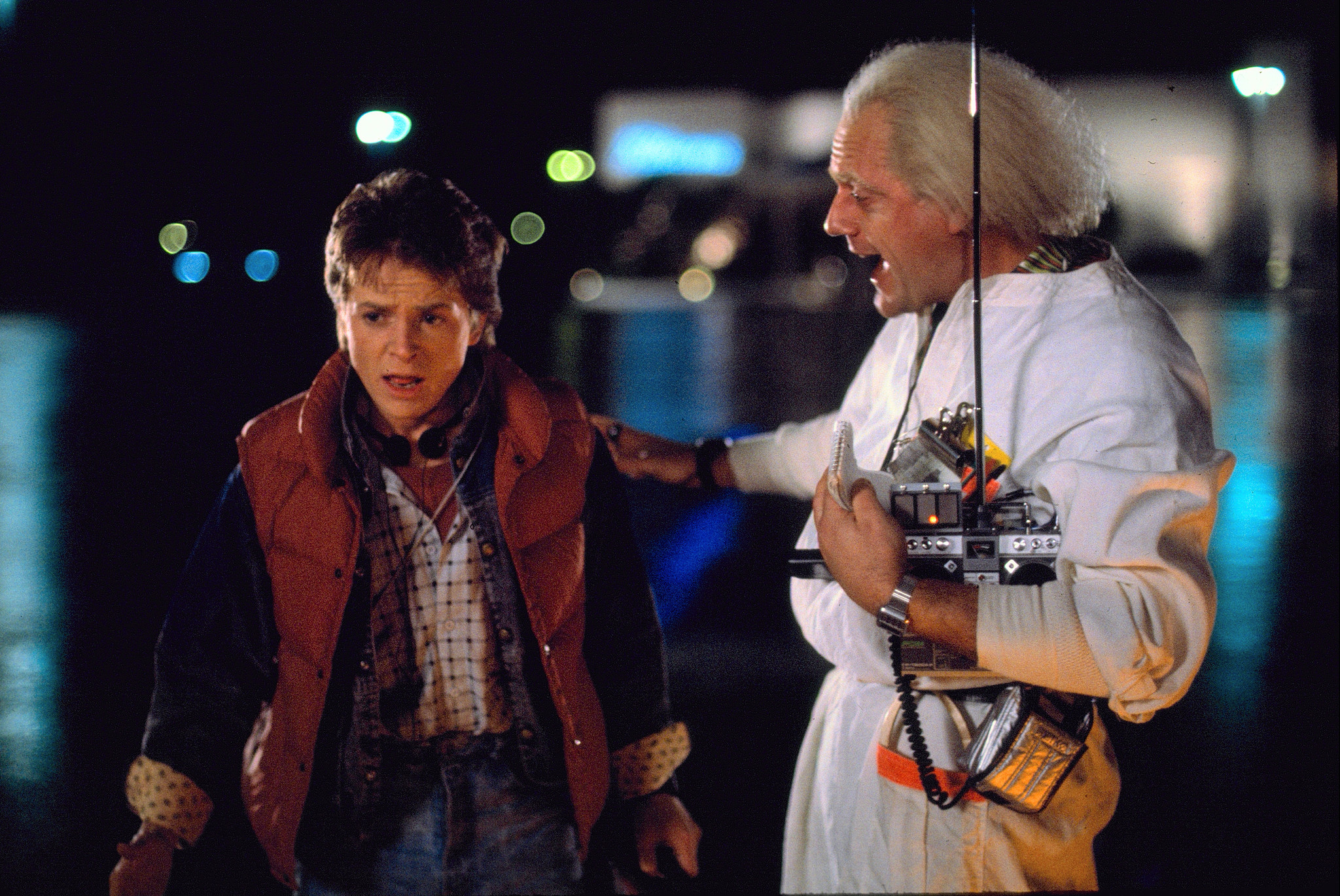 39 back to the future 39 turns 30 time sure does mcfly la times. Black Bedroom Furniture Sets. Home Design Ideas