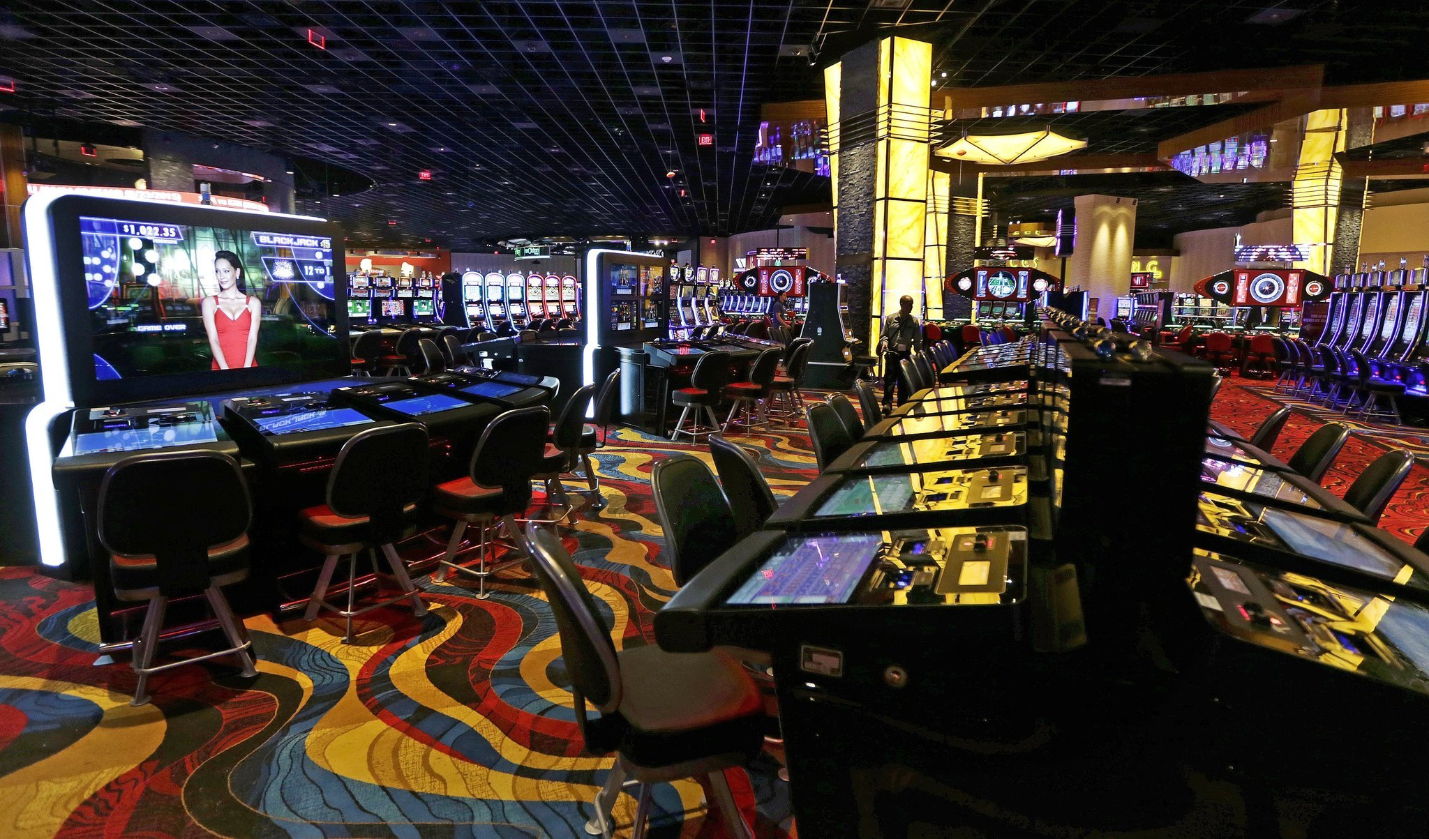 Types of gambling tables