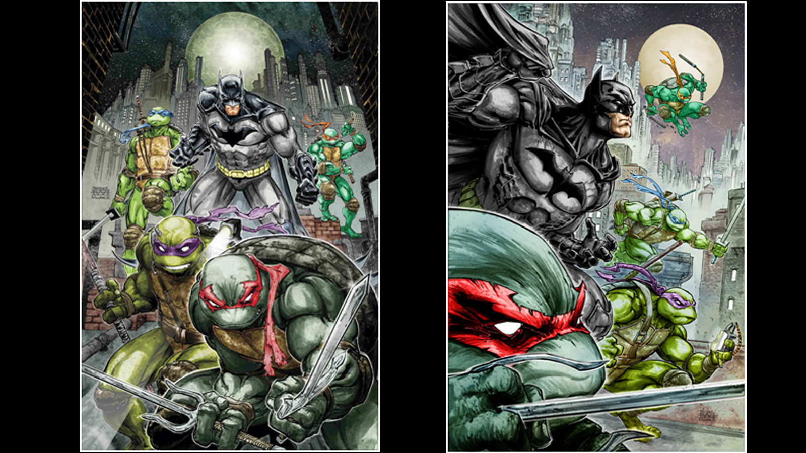 In 'TMNT / Batman,' James Tynion takes the turtles to ...