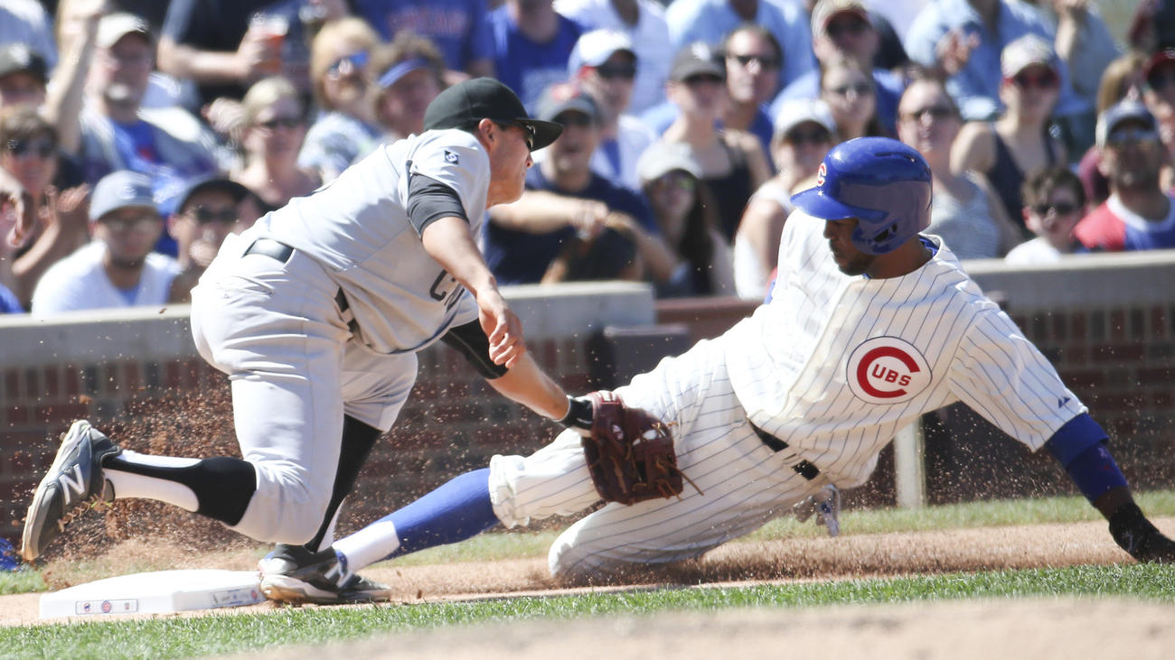 check out 093c1 8b620 A Look at Yesterday's Cubs/Sox Throwback Game | Uni Watch
