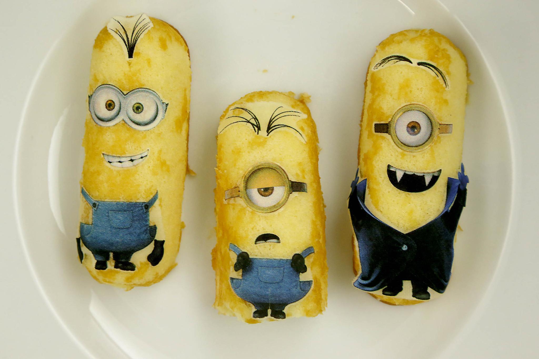 Minions Twinkies And Twinkies Cookbook La Times