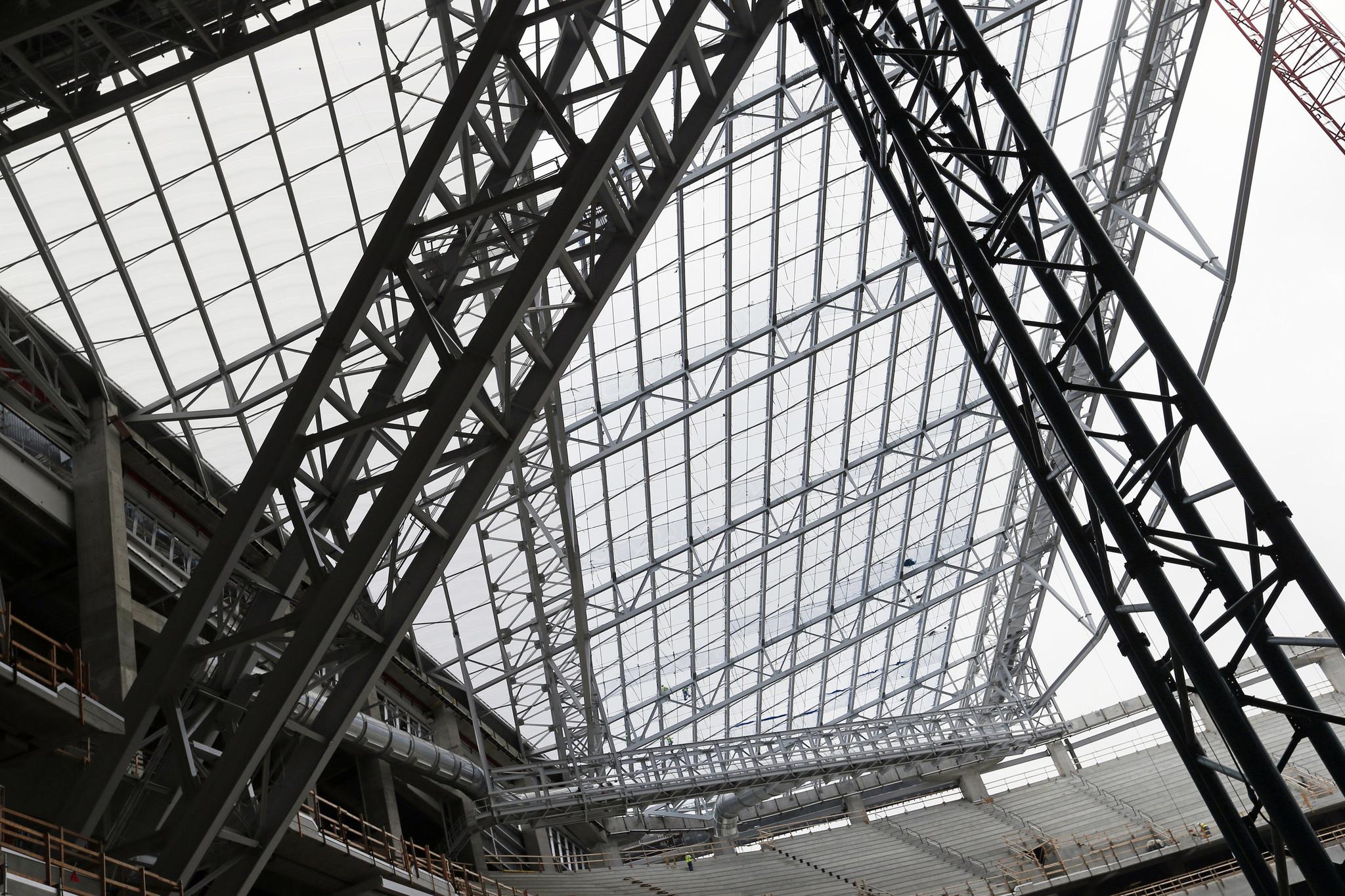 Innovative Roof Makes Vikings Stadium Lighten Up