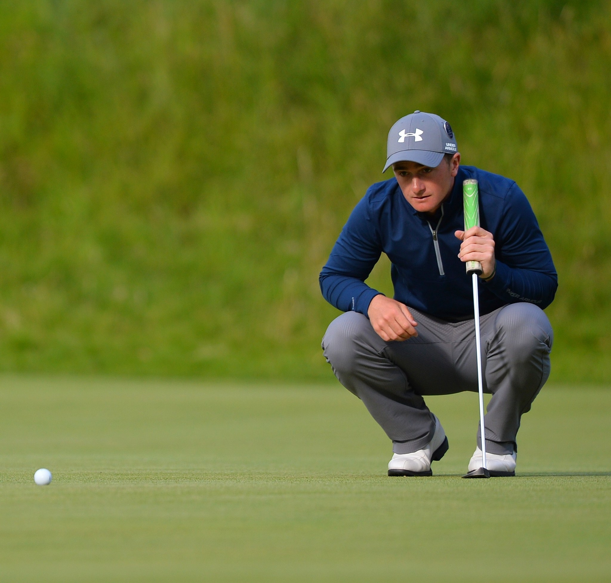 f5ce2aa081c14a Under Armour gets boost from Jordan Spieth