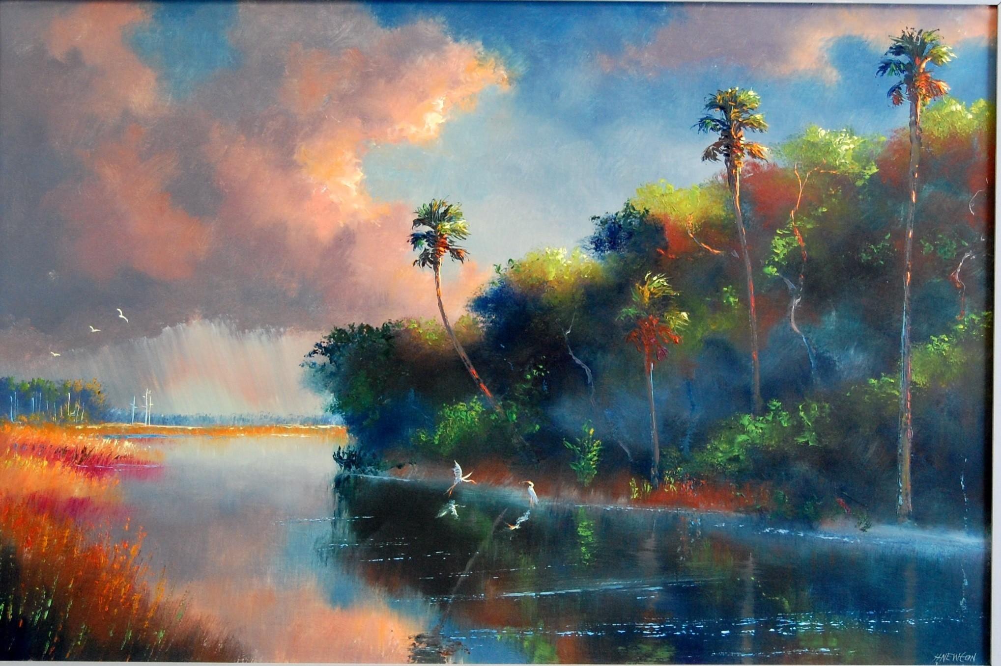 H Newton Artist Highwaymen paintings o...