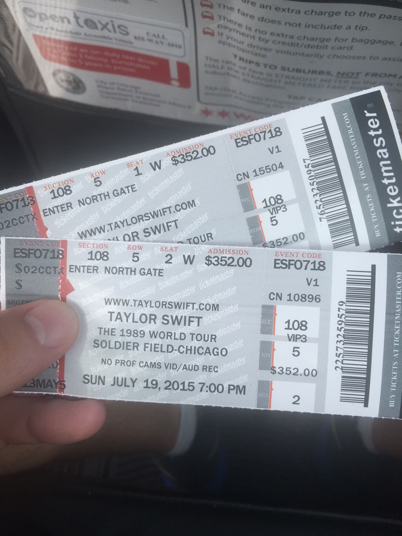 My friends accidentally bought fake Taylor Swift tickets ...