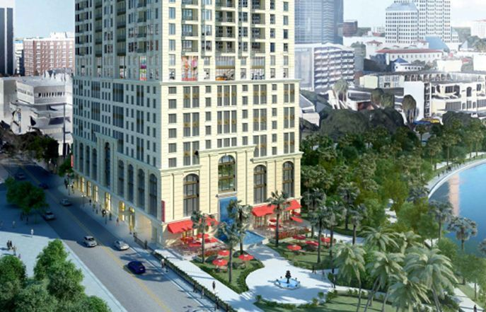 Three developer plans for downtown apartment towers ...