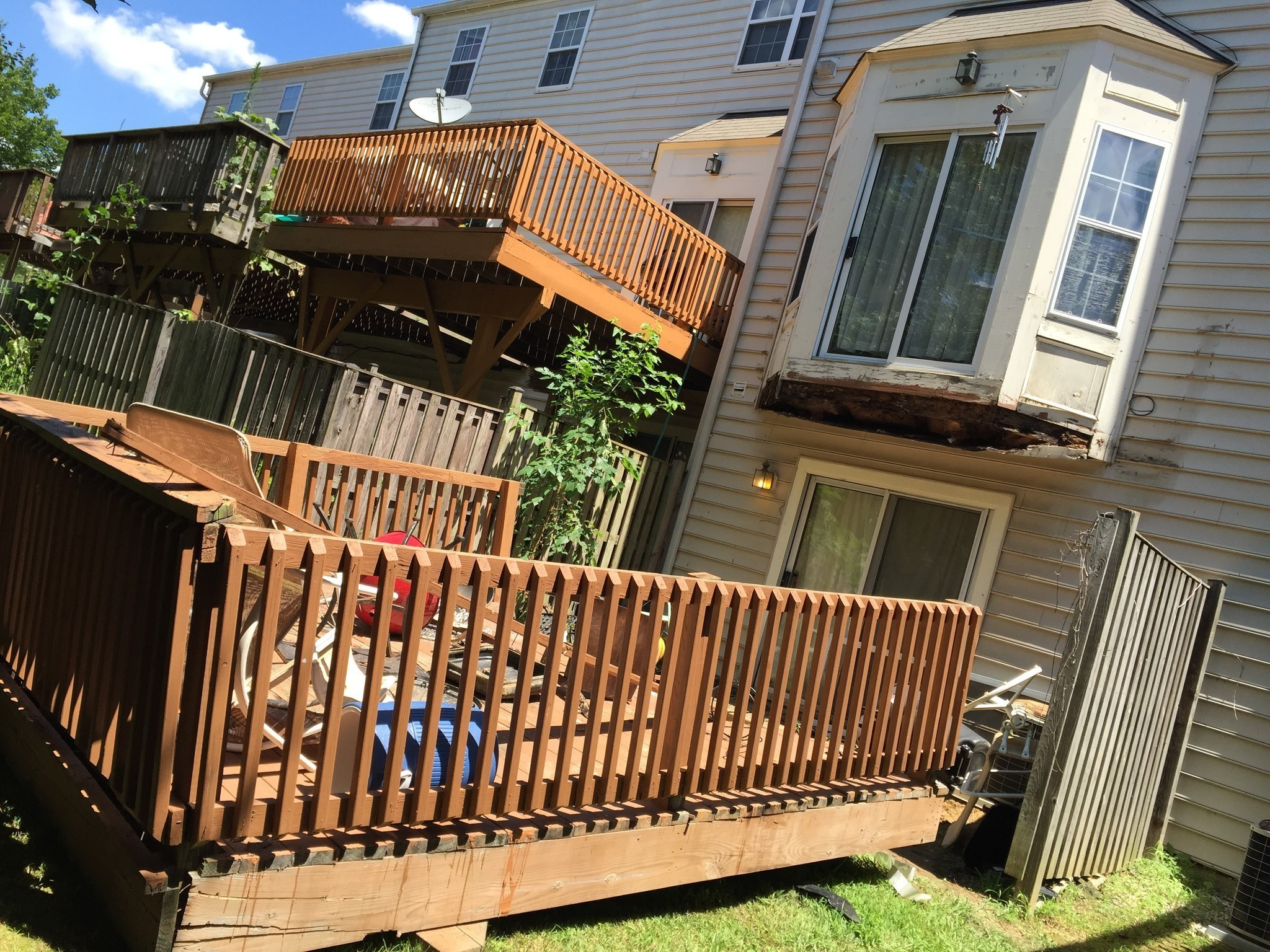 Hcdfrs Investigate Columbia Deck Collapse Howard County