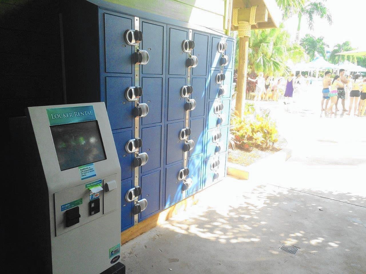 Aquatica Water Park Installs New Lockers Orlando Sentinel