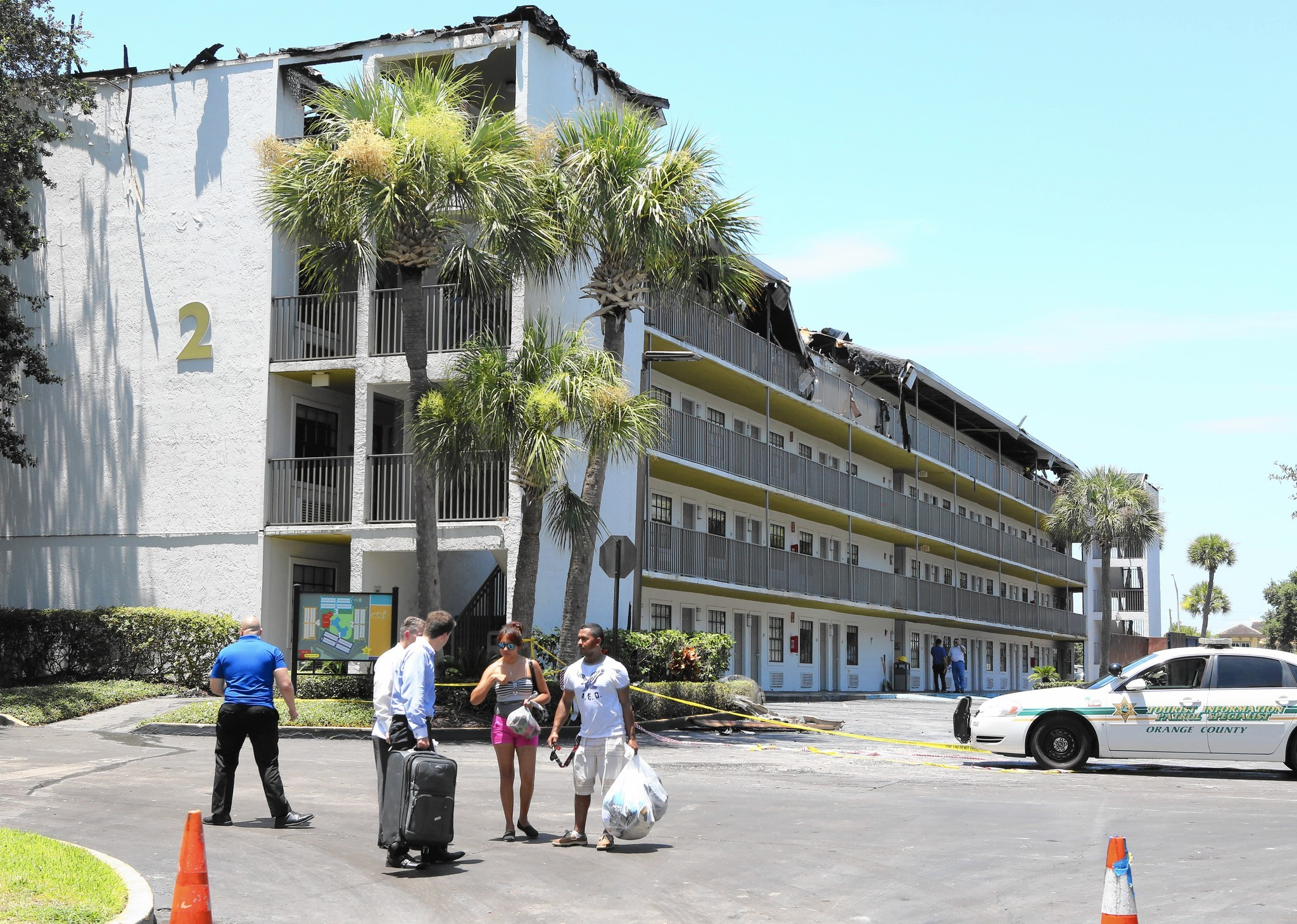 Orlando Hotels Ravaged By Fire Including The Avanti