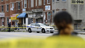 Baltimore homicides July 2015