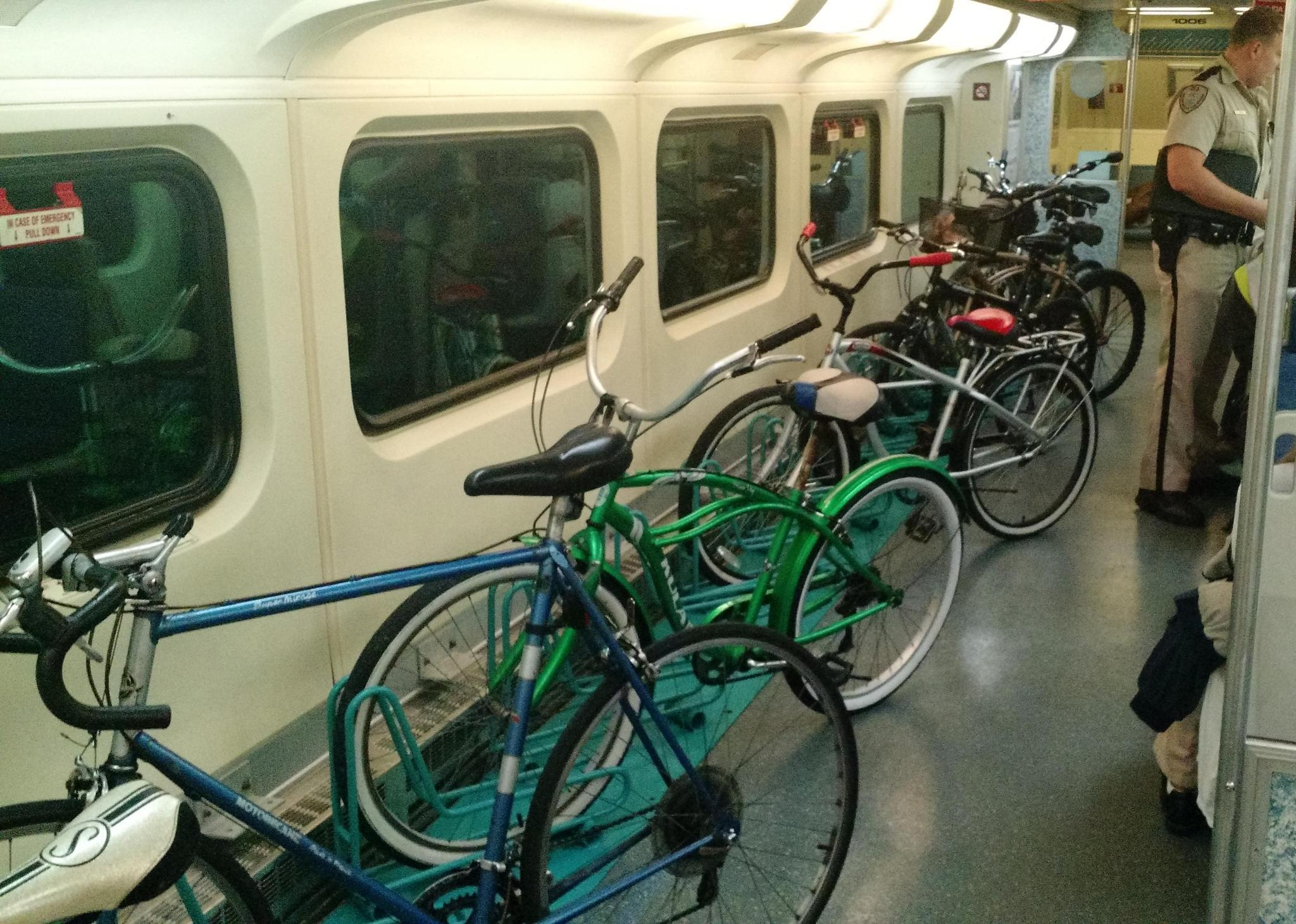 Tri Rail Adds Special Car To Store More Bikes Sun Sentinel
