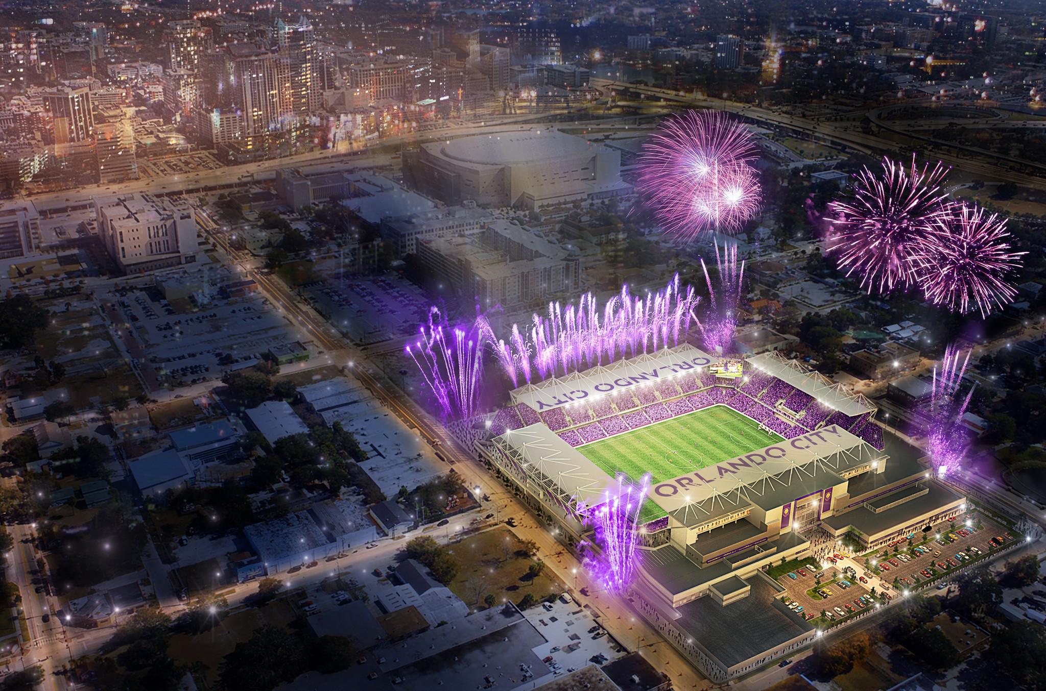 Orlando City Unveils Plans For New 155 Million 25 500