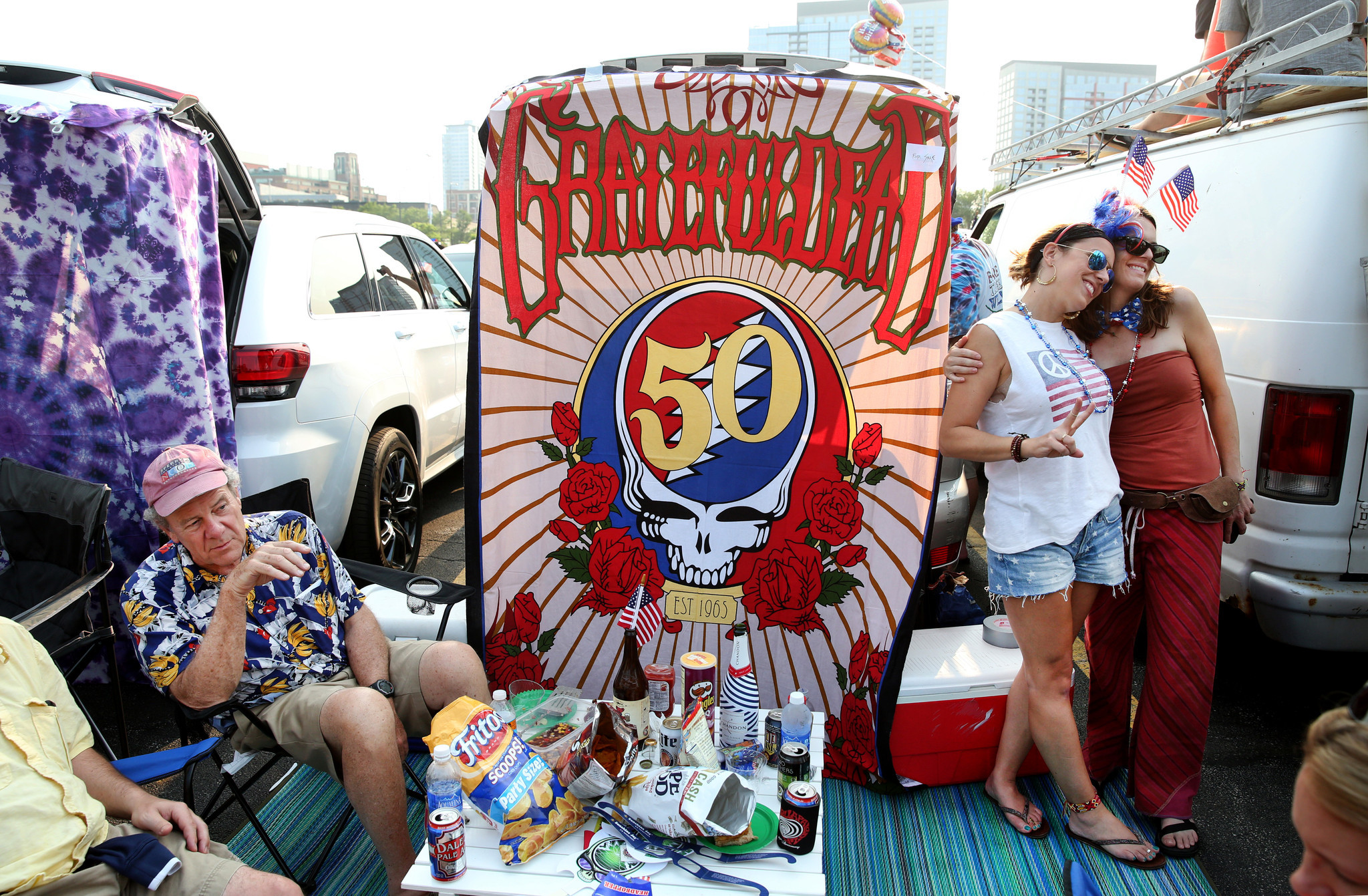 grateful dead members team up with john mayer for dead company chicago tribune. Black Bedroom Furniture Sets. Home Design Ideas
