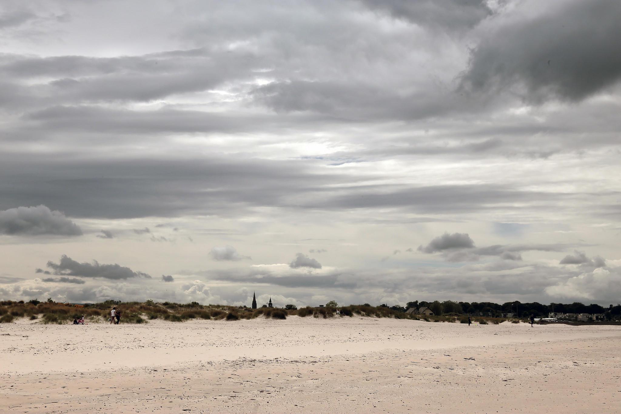 Nairn Beach in Scotland