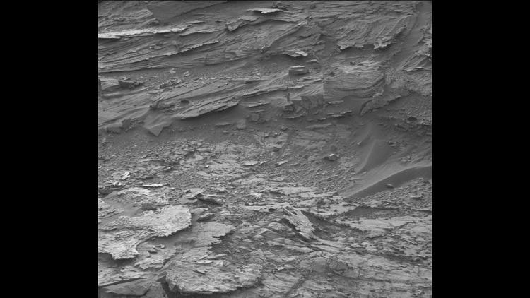 Mysterious woman-like figure captured by NASA's Curiosity rover from Mars