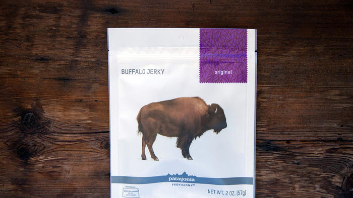 Patagonia Provisions Buffalo Jerky