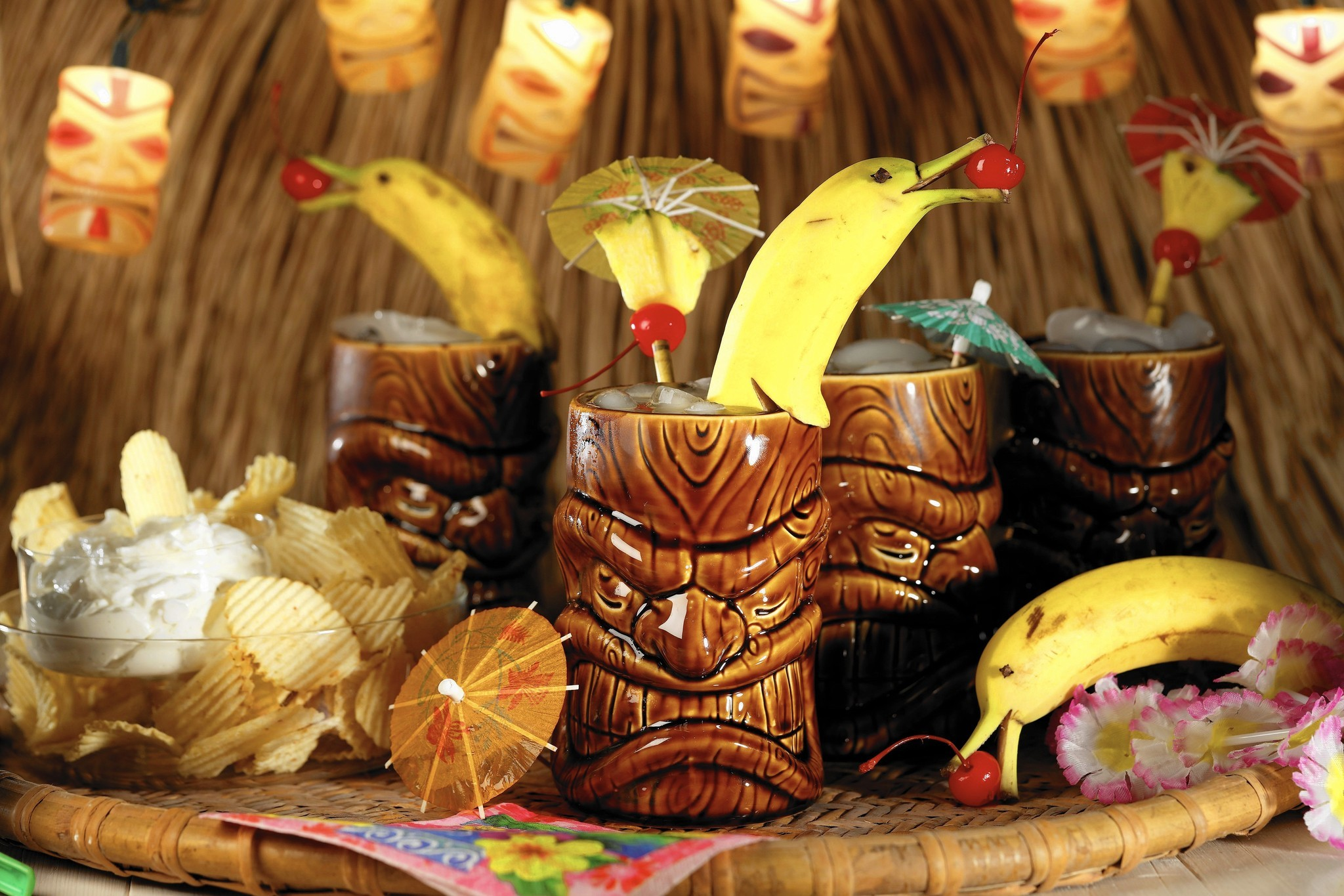 Bring The Tiki Party Home With Easy Drink Recipes
