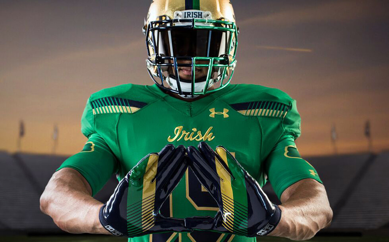 47880555f Notre Dame going green with Shamrock Series uniforms - Chicago Tribune