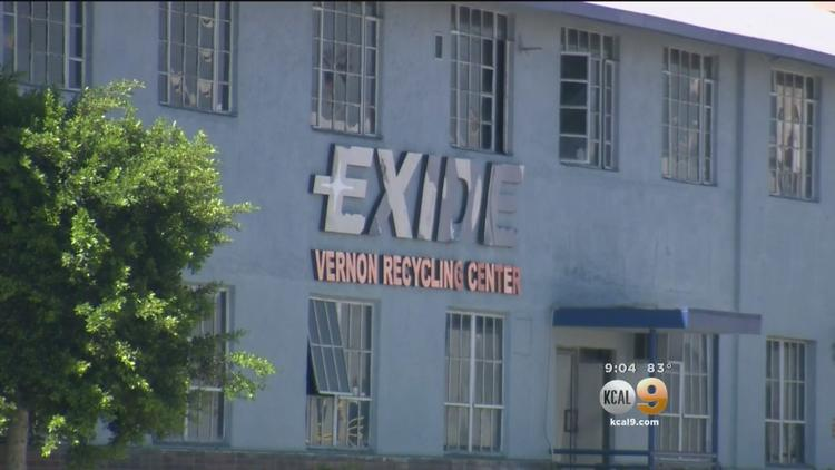 Thousands Of Homes Potentially Contaminated By Exide Battery Facility