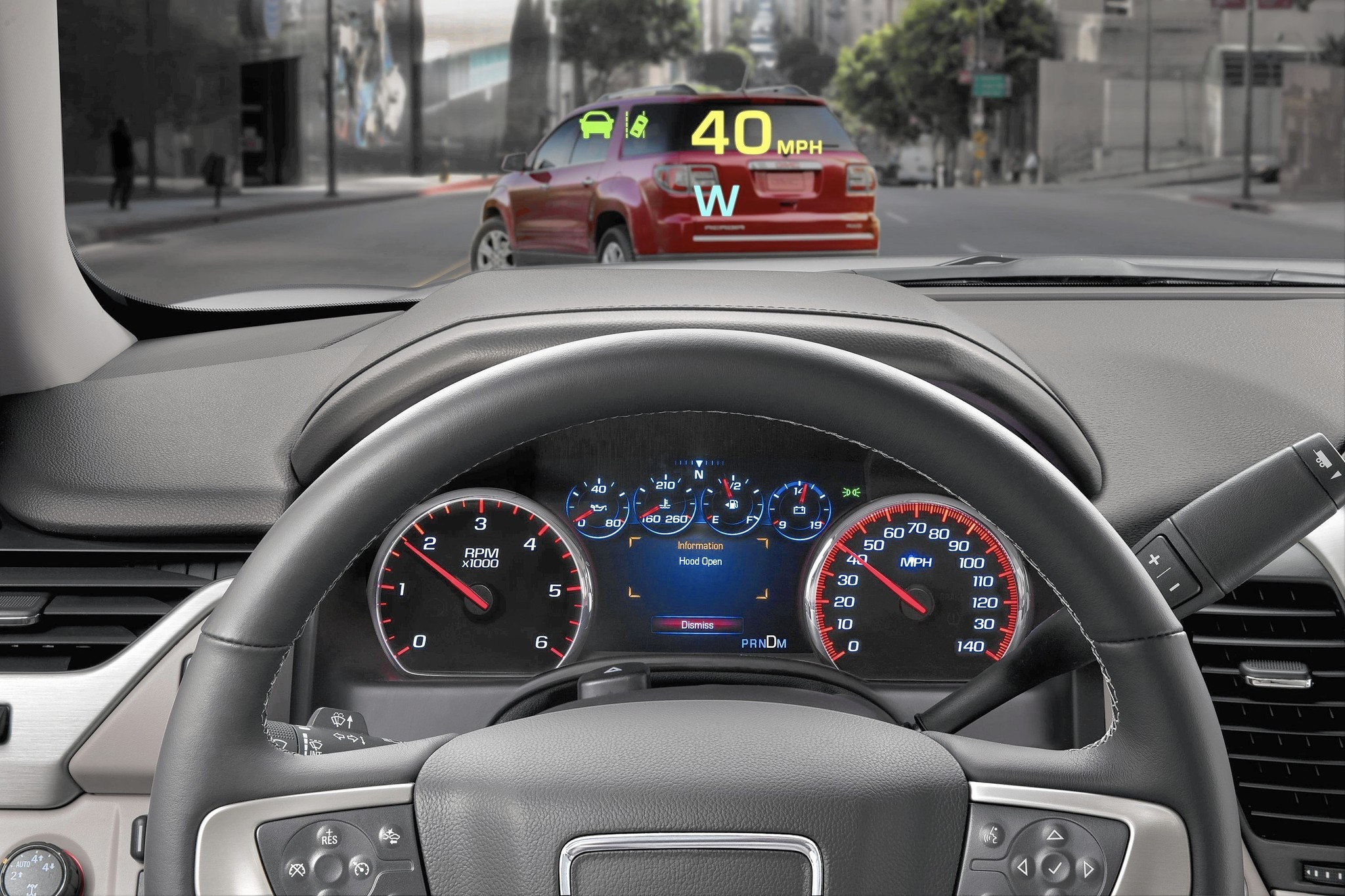 Head Up Display Systems Are Projecting The Vision Of Car Technology