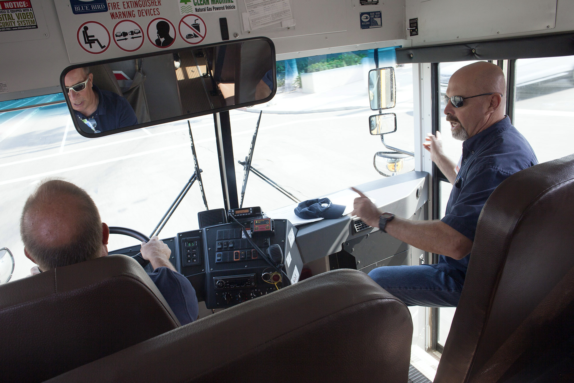 No Bull A Rodeo For School Bus Drivers To Test Their