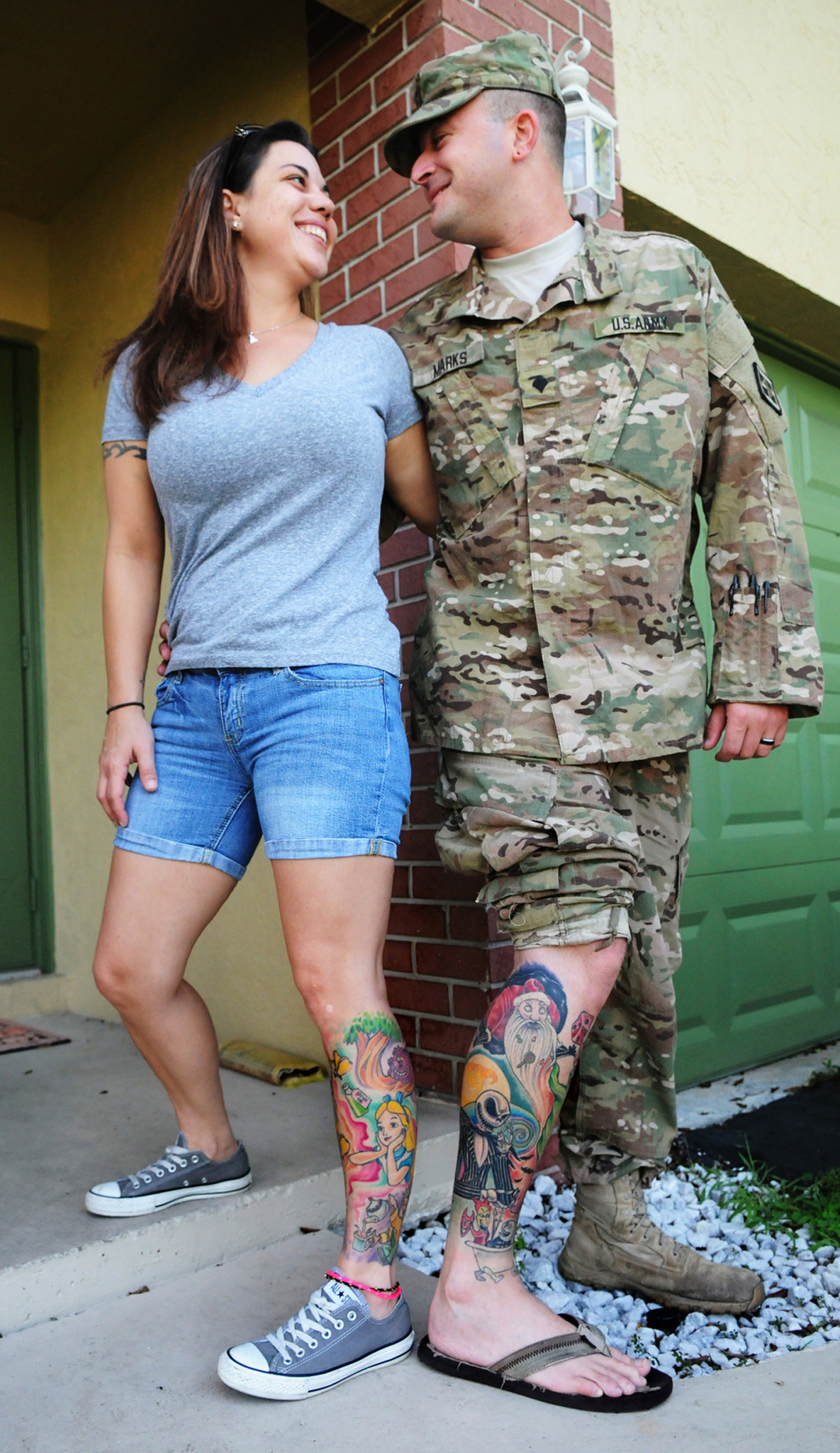 Tattoos Mark Coral Springs Couples Journey Sun Sentinel