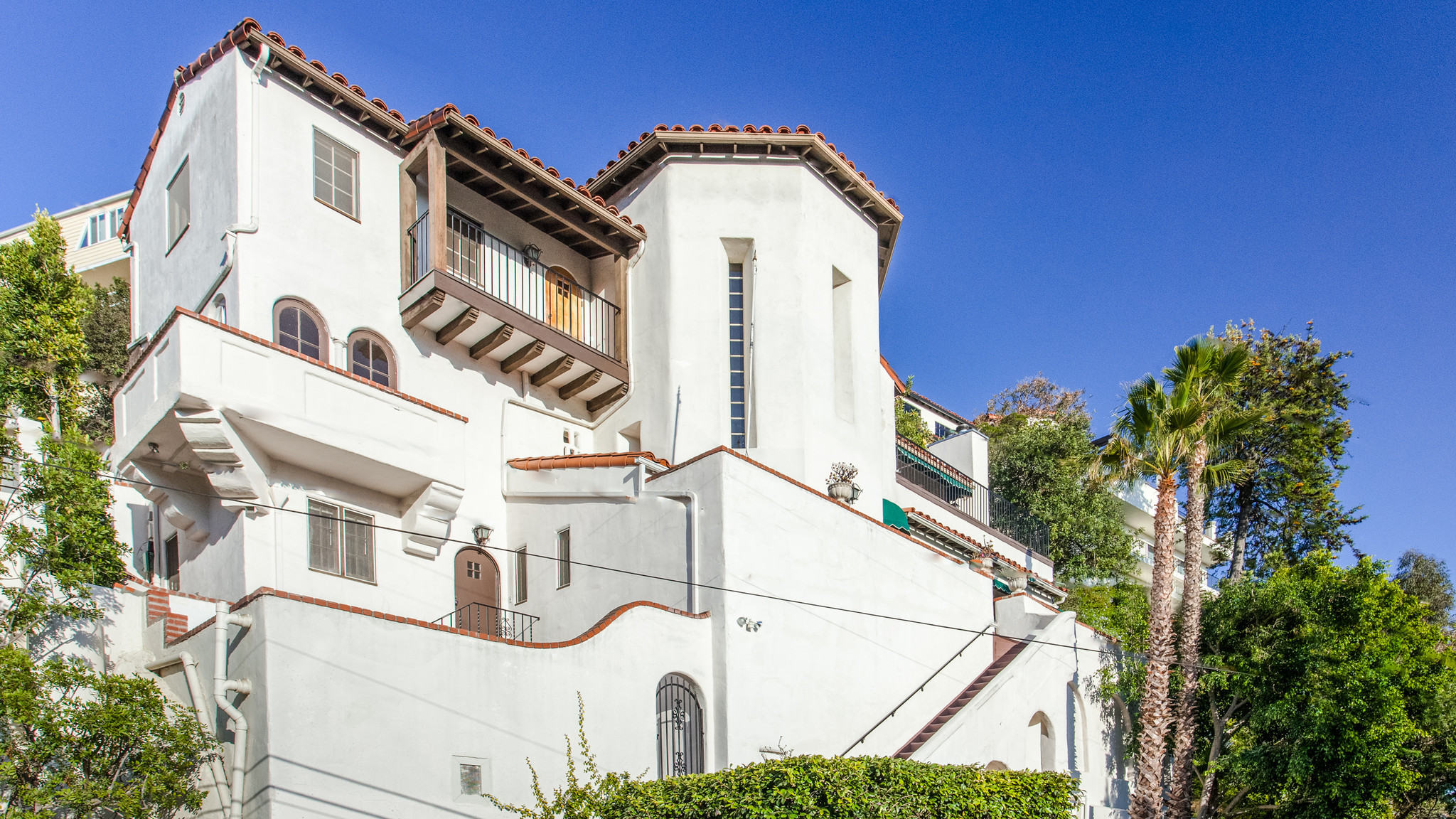 Home Of The Day 1920s Spanish Revival In Hollywood Hills