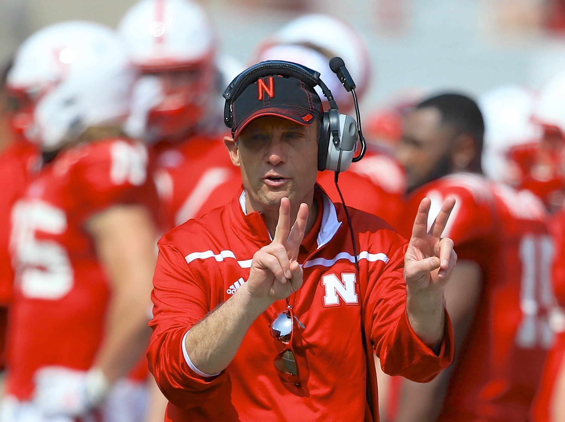 Nebraska coach Mike Riley offers contrast in style to his ...
