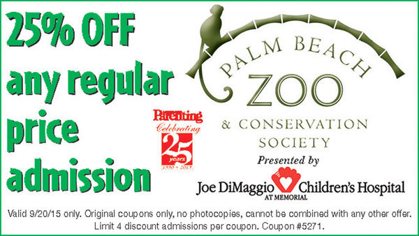 palm beach zoo coupons online