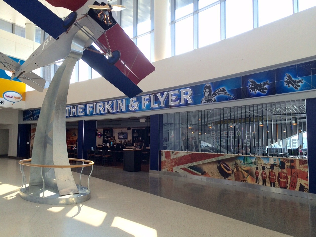 the firkin  u0026 flyer pub open now at bwi