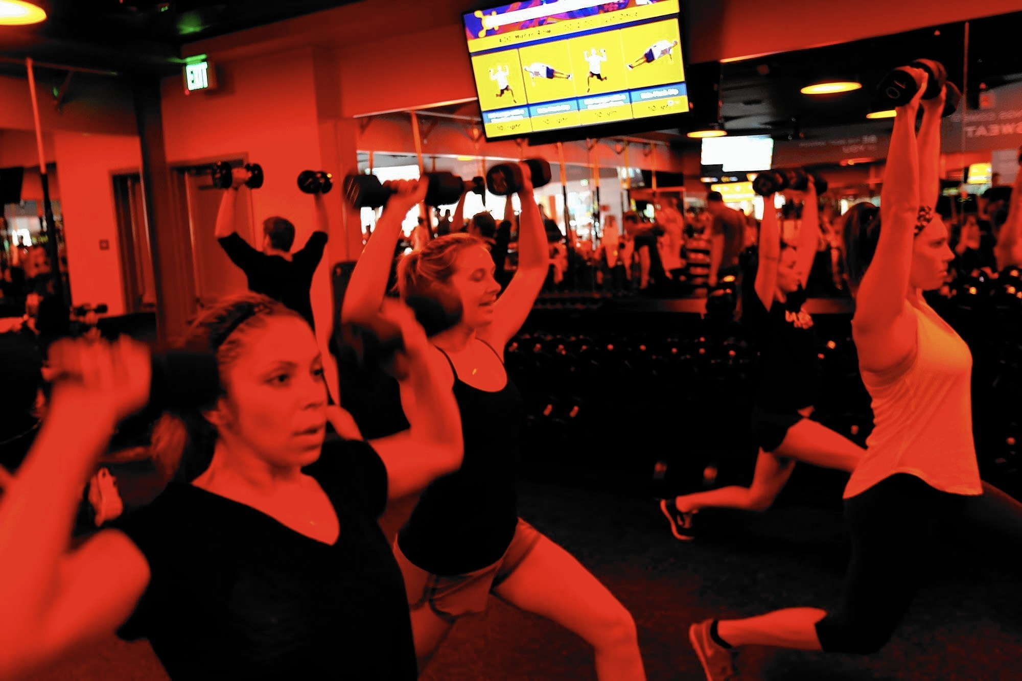 Orangetheory Fitness Aims To Push Exercisers Into The Zone