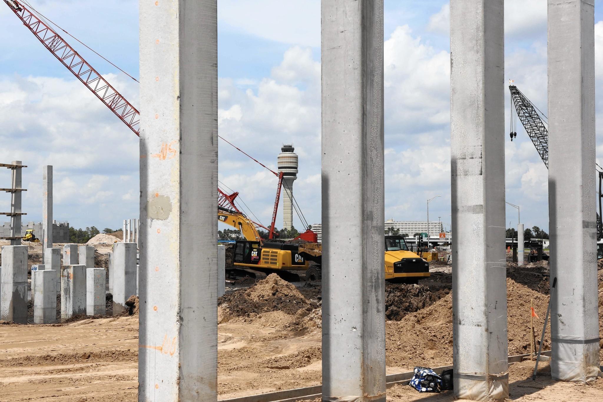 Construction Booming At Orlando International Airport