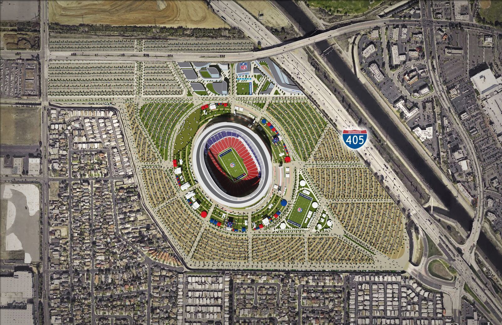 Corner Lot Floor Plans Rival Developers Have Viewed Carson As An Nfl Stadium Site