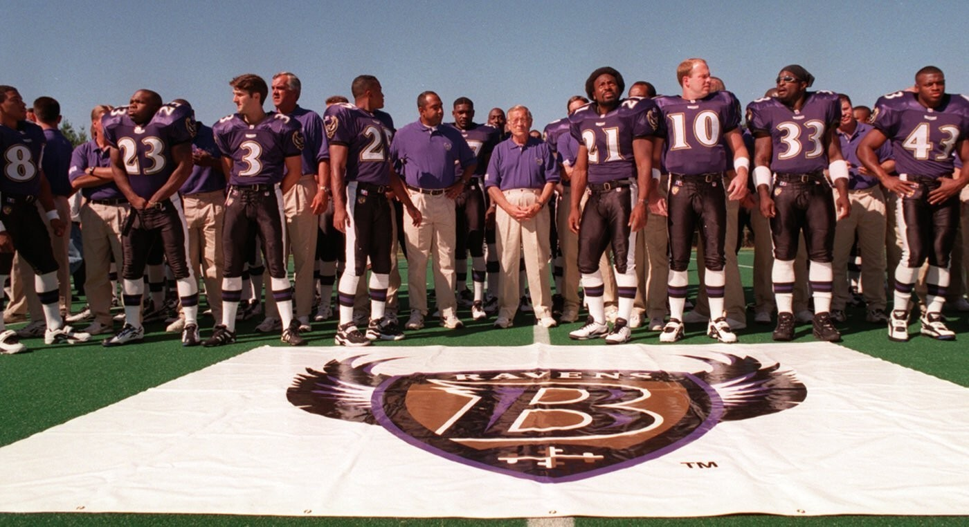 Once a team without a name, Ravens enter 20th season as one of NFL's
