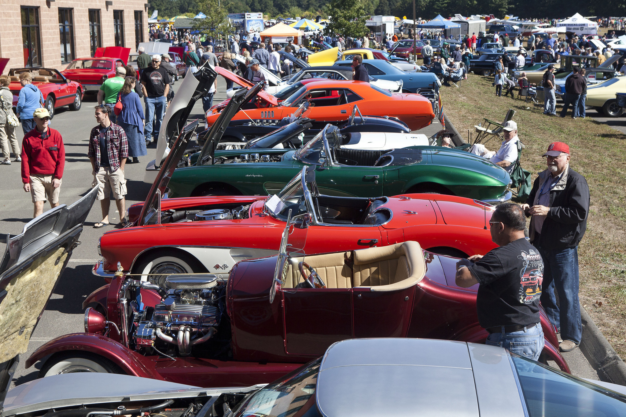 Simsbury Car Show