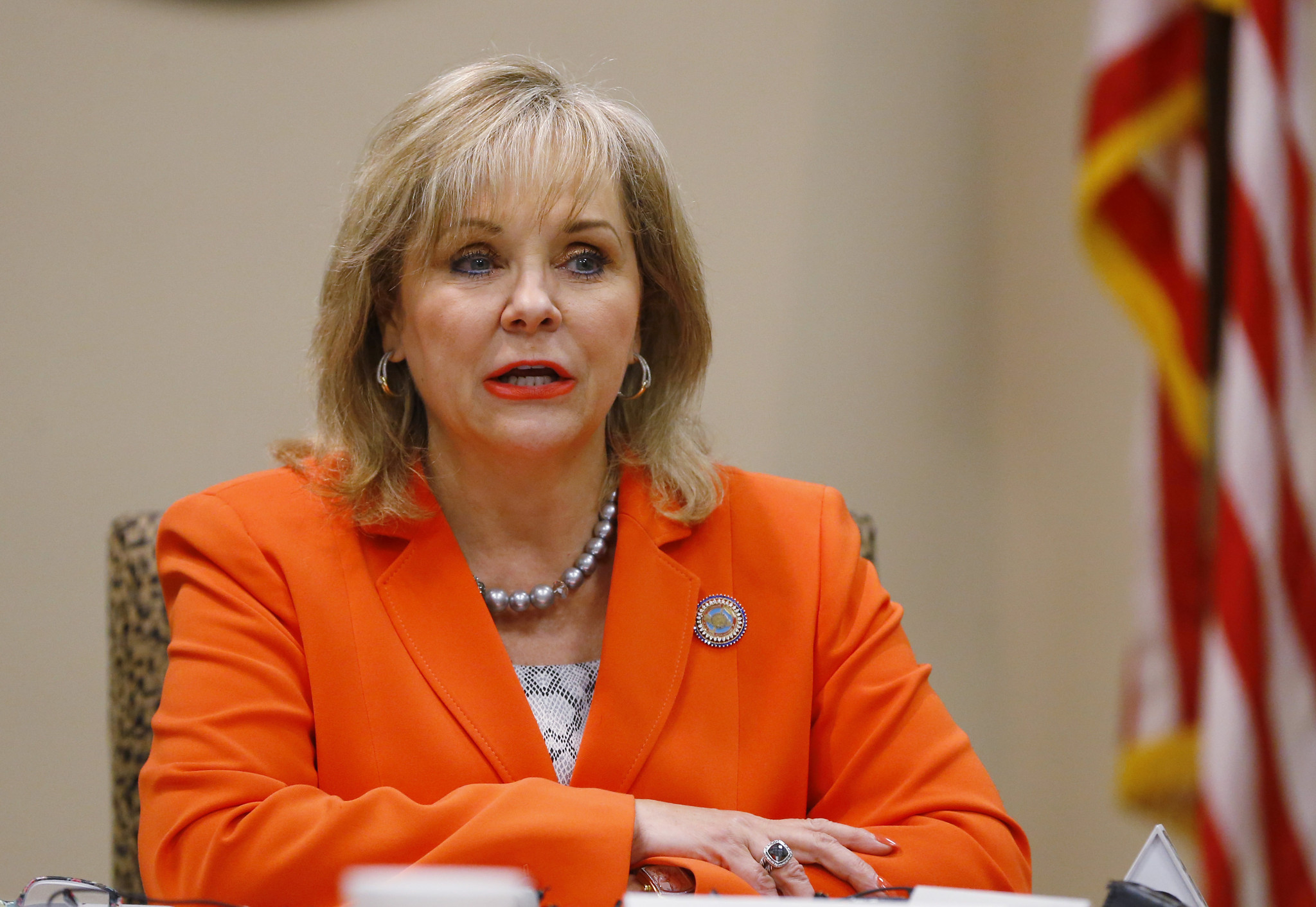 Oklahoma Gov. Mary Fallin has expressed interest in working alongside Donald Trump.