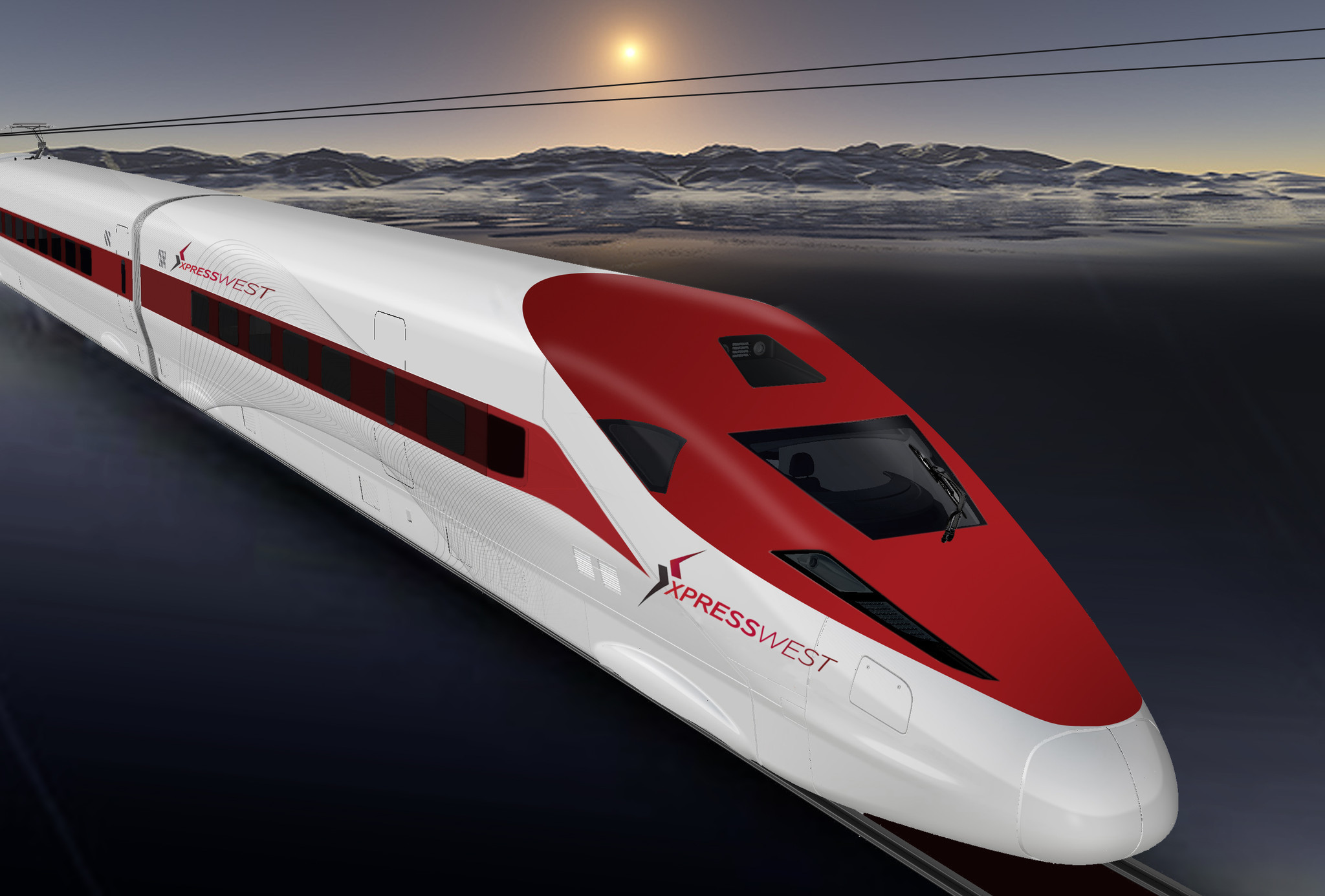 A high-speed rail from L.A. to Las Vegas? China says it's ...