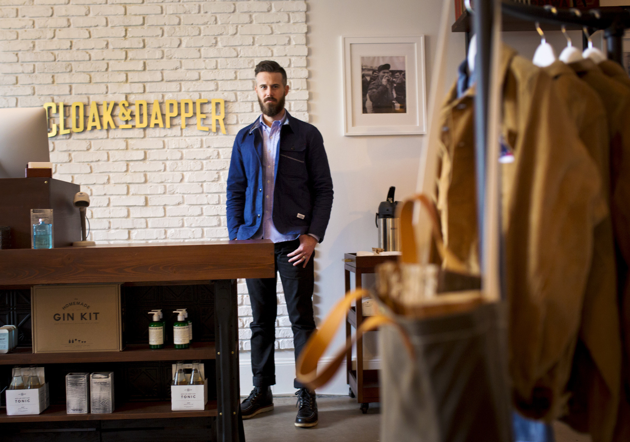 Dapper clothing store