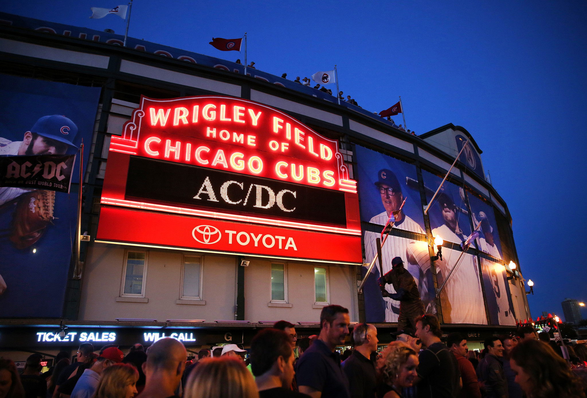 Joe Maddon Not Thrilled With Wrigley Conditions Since Acdc Concert