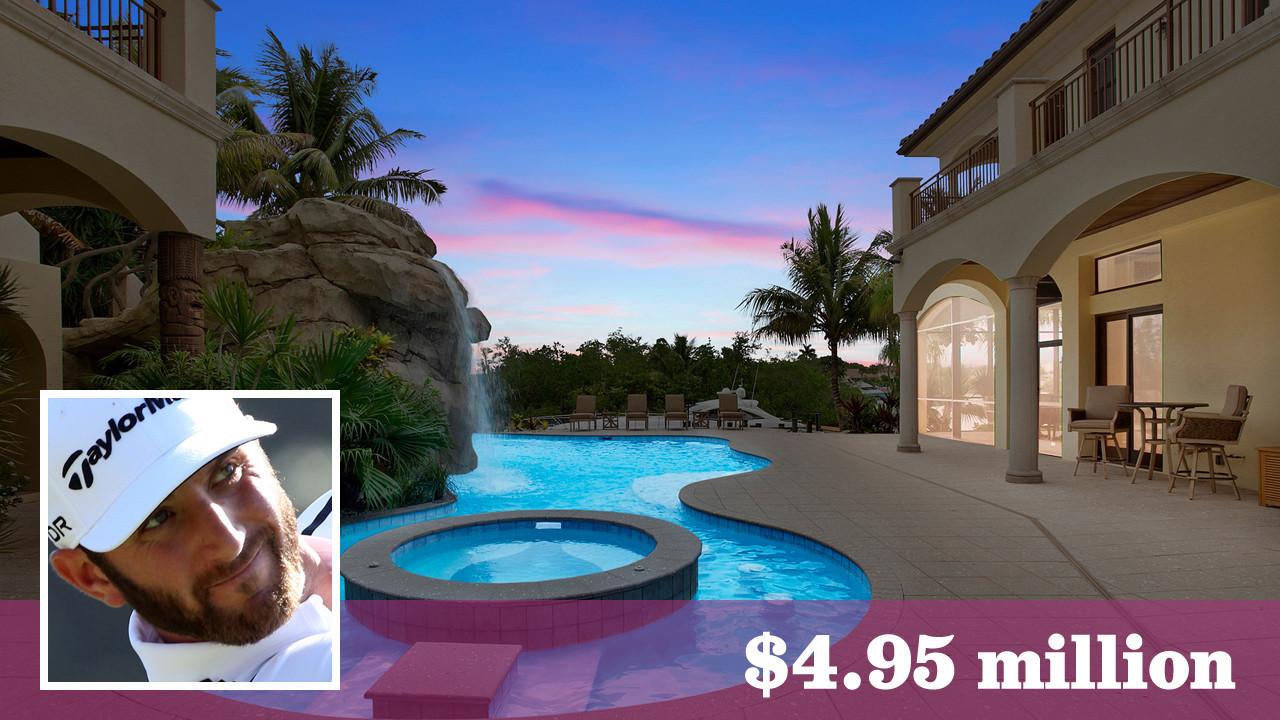 Pga S Dustin Johnson Pays 4 95 Million For Florida Home