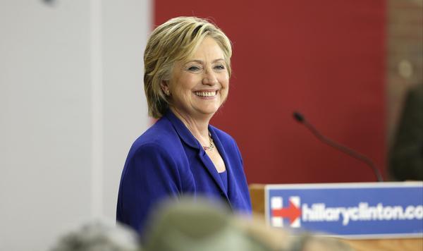 Hillary Rodham Clinton (Charlie Neibergall / Associated Press)