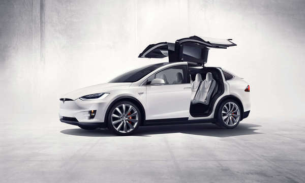 Tesla Finally Unveils The Model X All Electric Suv